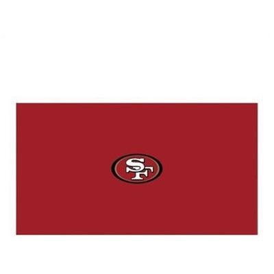 Imperial International NFL San Francisco 49ers Pool Table Cloth - 8 ft.
