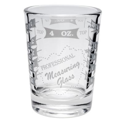 Libbey 5134/1124N 4 oz Mixing Glass - Capacity Markings on Both Sides