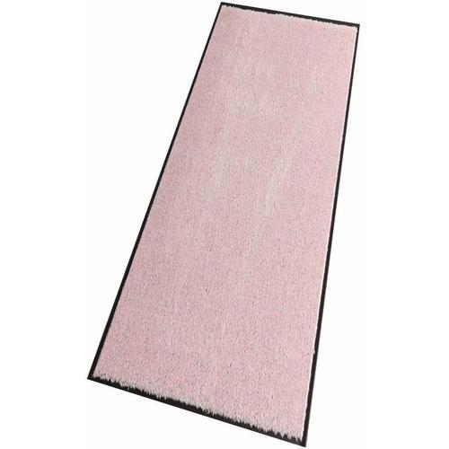 HANSE Home Läufer Deko Soft, rechteckig, 7 mm Höhe, Schmutzfangläufer, Schmutzfangteppich, Schmutzmatte, waschbar rosa Teppichläufer Teppiche und Diele Flur