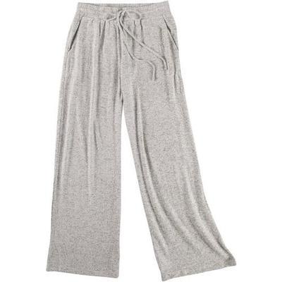 Gilli Womens Heathered Brushed Drawstring Sweatpants
