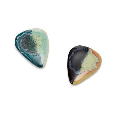 Glass Glazed Stoneware Guitar Picks