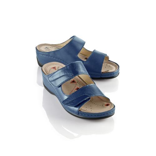 Avena Damen Magnetfußbett-Pantolette Blau