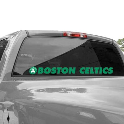 """Boston Celtics WinCraft 2"""" x 17"""" Perfect-Cut Decal"""