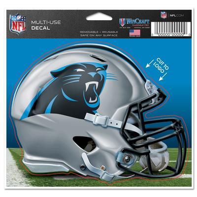"Carolina Panthers WinCraft 5"" x 6"" Helmet Multi-Use Decal"
