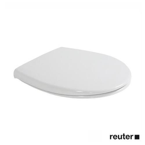 Duravit Duraplus WC-Sitz mit Kunststoffscharnieren weiß mit Kunststoffscharnieren 0066300000