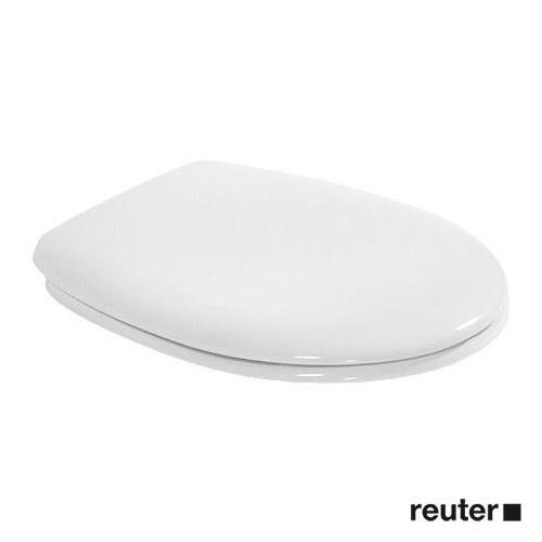 Duravit Duraplus WC-Sitz mit Edelstahlscharnieren weiß, Scharniere edelstahl 0064200000