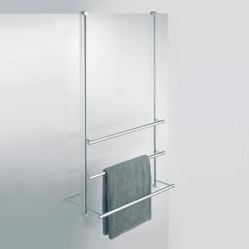 Giese Server Badetuchhalter für Glasduschen B: 500 H: 1000 mm Breite: 500 mm 30856-02