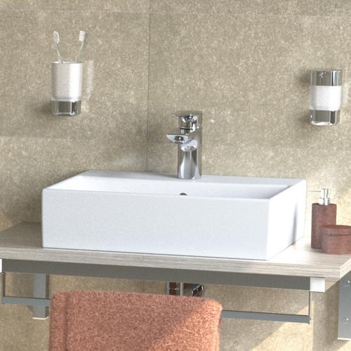 Ideal Standard Strada Waschtisch B: 50 T: 42 cm weiß, mit 1 Hahnloch K077701