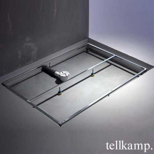 Tellkamp Aquazone Trägergestell für Duschwanne L: 100 B: 80 H: 3,5 cm TN0300-006-10080U