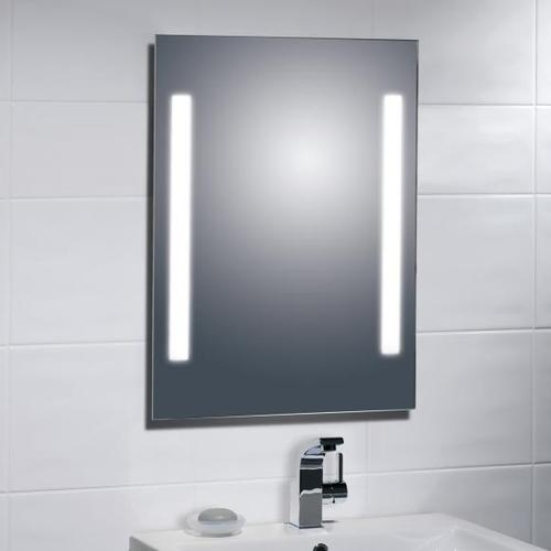Treos Serie 614 LED Wandspiegel hinterleuchtet B: 50 H: 70 cm 614.06.7050, EEK: A+