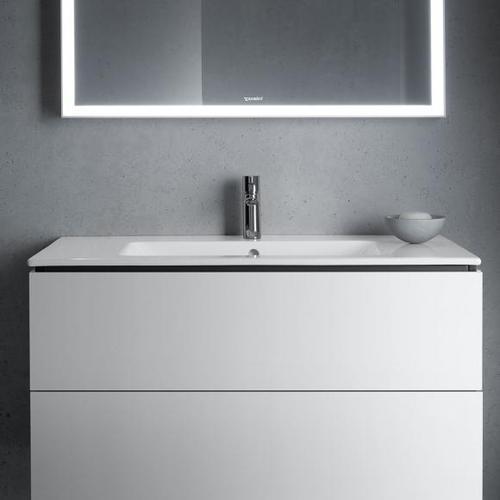 Duravit ME by Starck Möbelwaschtisch B: 103 T: 49 cm weiß, mit 1 Hahnloch 2336100000