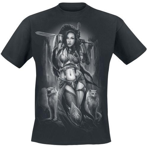 Toxic Angel Freya Herren-T-Shirt - schwarz