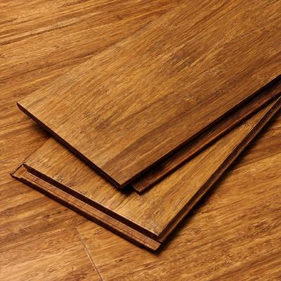 Java Wide Plank Bamboo Flooring Sample by Cali Bamboo