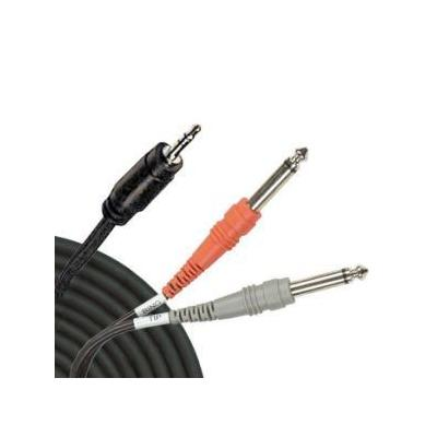 Hosa Stereo Mono 2.25 in. Microphone Cable - 3 Ft