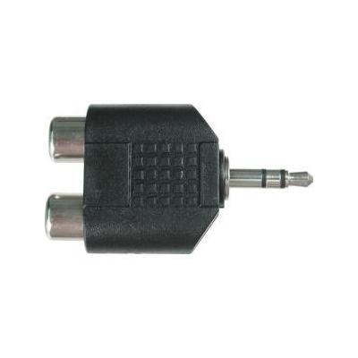 Hosa Female RCA to 1/8 in. Male Cable Adapter