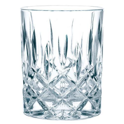Nachtmann Whiskyglas Noblesse, (Set, 4 tlg.), edler Schliff farblos Kristallgläser Gläser Glaswaren Haushaltswaren