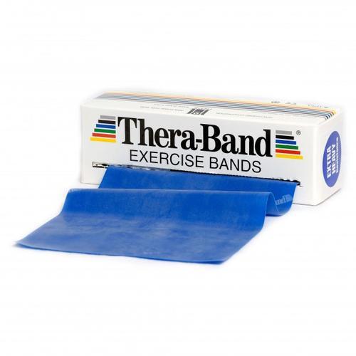 Thera-Band - Übungsband - Fitnessband Gr 12,8cm x 5,50m blau