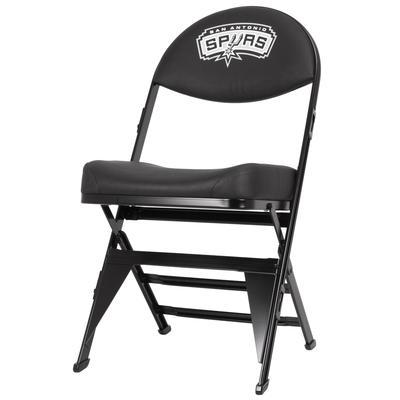 """San Antonio Spurs X-Frame Court Side Folding Chair"""