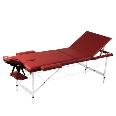 vidaXL Table pliable de massage ...