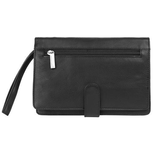 BODENSCHATZ Handgelenktasche schwarz Damen Handgelenkstaschen Taschen