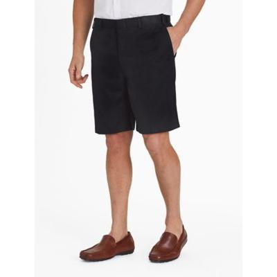 Men's Adjust-A-Band Relaxed-Fit Microfiber Shorts, Black 56