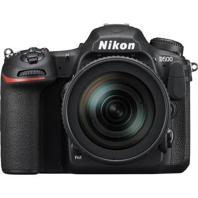 Nikon D500 DSLR Camera with 16-80mm Lens - Black