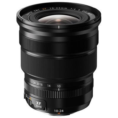 Fujifilm Fujinon XF 10-24mm f/4 R OIS Lens for Most Fujifilm X-Series Digital Cameras - Black
