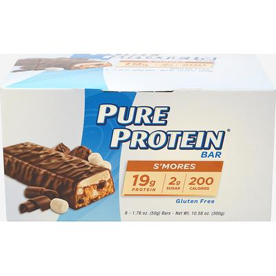 Pure Protein Pure Protein S'mores-6 Bars