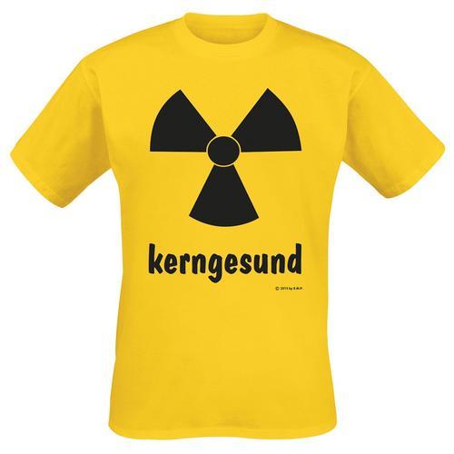 Kerngesund Herren-T-Shirt - gelb