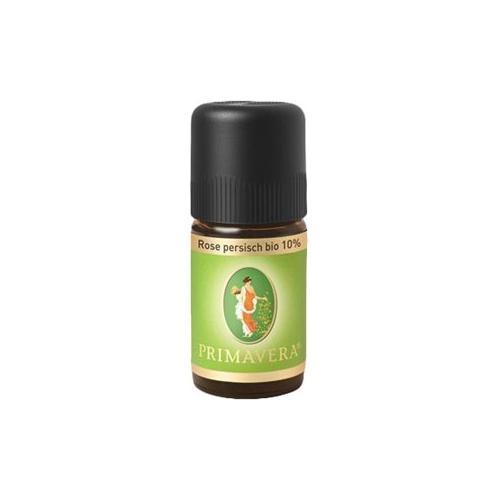 Primavera Aroma Therapie Ätherische Öle bio Rose Persisch Bio 10% 5 ml