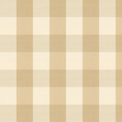 Buffalo Check Wheat Fabric by the Yard - Ballard Designs