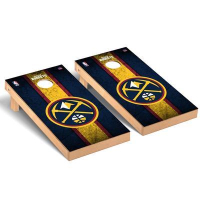 """""""Denver Nuggets 2' x 4' Vintage Regulation Cornhole Board Set"""""""