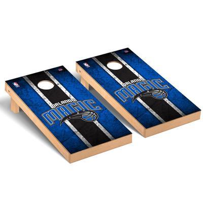 """Orlando Magic 2' x 4' Vintage Regulation Cornhole Board Set"""