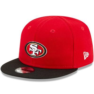 Infant San Francisco 49ers New Era Black/Black My 1st 9FIFTY Adjustable Hat