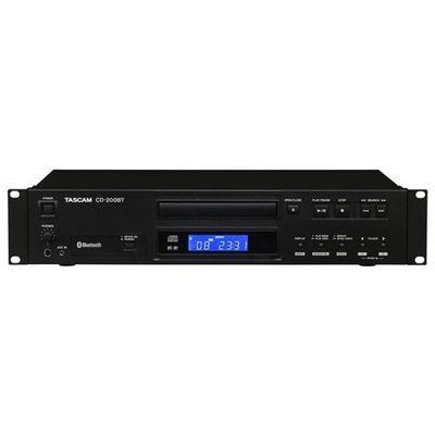 Tascam CD-200BT Rackmount CD Player With Bluetooth Receiver CD200BT