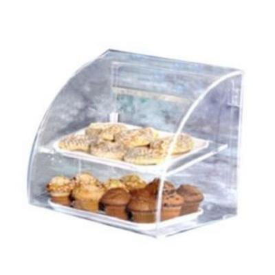 """Vollrath Euro Clear Bakery Case- Small Case Holds 2- 10"""" X 14"""""""