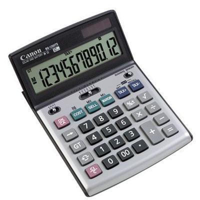 Canon - BS-1200TS 12-Digit Desktop Calculator