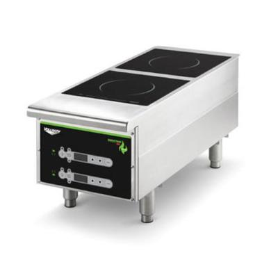 Vollrath Heavy-duty Induction Hotplate - 2 Hob, Digital, Back Of The House