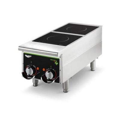 Vollrath Heavy-duty Induction Hotplate - 2 Hob, Manual, Back Of The House