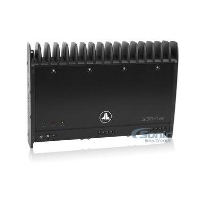 JL Audio 300/4V3 4-channel car amplifier - 75 watts RMS x 4