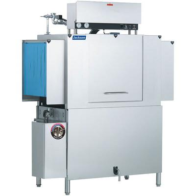 "Jackson AJX-44CE 78"" High Temp Conveyor Dishwasher w/ Booster Heater, 208v/1ph"