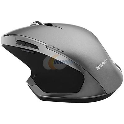 Verbatim Wireless Desktop 8-Button Deluxe Blue LED Mouse - Graphite #98622