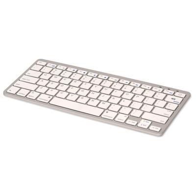 iHome IMAC-K111S White Keyboard (Standard, Bluetooth, Wireless)