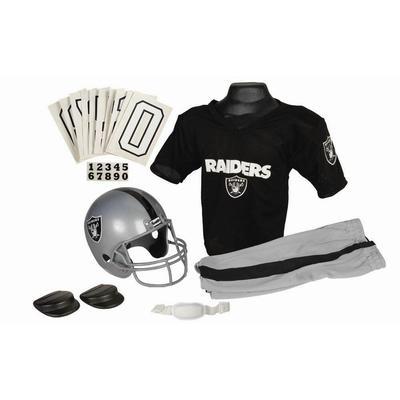Franklin Boys Nfl Raiders Helmet And Uniform Set