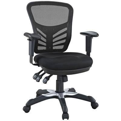 Modway Articulate Office Chair in Black MDW-EEI-757-BLK