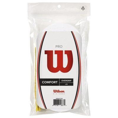 Wilson New Pro Overgrip 30 Pack White