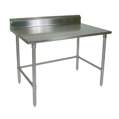 """John Boos Work Table, 36""""w X 24""""d, 14/300 Stainless Steel Top With"""