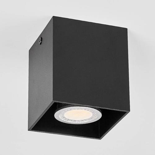 Carson - Aufbau-Deckenspot in Schwarz
