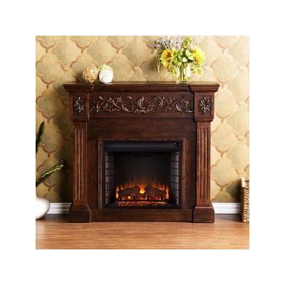 Huntington Electric Fireplace, Black