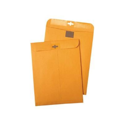Postage Saving ClearClasp Envelopes - Brown (100 Per Box)